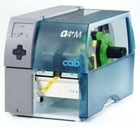 Термотрансферный принтер для печати на термоусадочной трубке cab A4+M