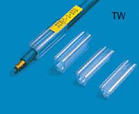 Печать пластиковых вставко для клеммников TW на кабельных принтерах Canon Mk1500 и Mk2500