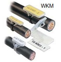 Печать пластиковых вставко для клеммников WKM на кабельных принтерах Canon Mk1500 и Mk2500