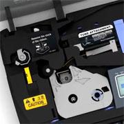 Видео: подача профиля для печати на кабельном принтере Partex Promark T800
