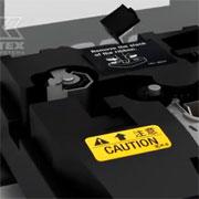 Видео: замена направляющих на кабельном принтере Partex Promark T800