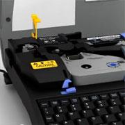 Видео: замена резака на кабельном принтере Partex Promark T800