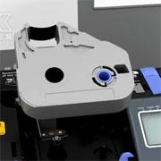 Видео: замена риббона на кабельном принтере Partex Promark T800