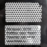 Пломба наклейка белая матовая из полиэстера 30796