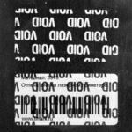 Пломба наклейка VOID белая матовая 3739