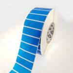 Пломба наклейка синяя OPEN VOID 6001