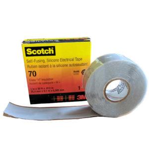 Лента 3M Scotch 70 термостойкая и термоактивная
