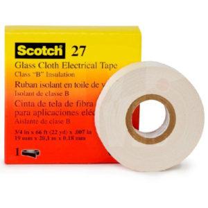 Лента 3M Scotch 27 стекловолоконная электроизоляционная