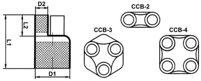 Схема кабельных перчаток Canusa CCB