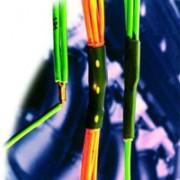 Клеевая термоусадочная трубка Deray Splicemelt с увеличенным клеевым слоем.