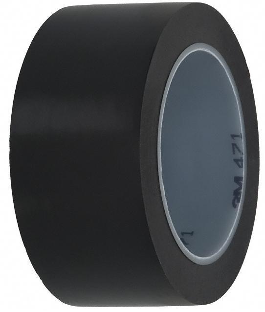 Лента для напольной разметки 3M 471 черная