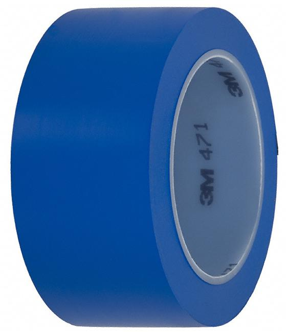 Лента для напольной разметки 3M 471 синяя