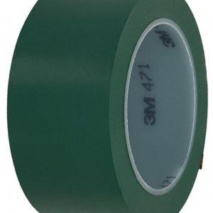 Лента для напольной разметки 3M 471 зелёная