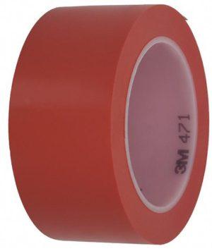 Лента для напольной разметки 3M 471 красная