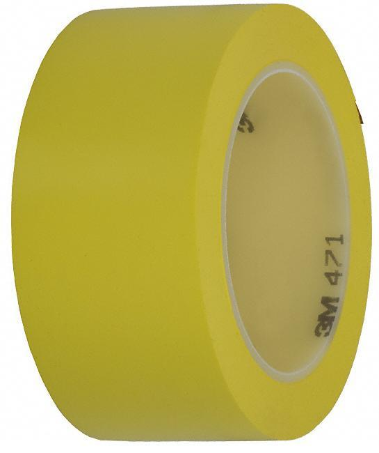 Лента для напольной разметки 3M 471 желтая