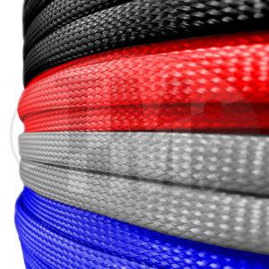 Гибкие цветные защитные кабельная оплетки для проводов IPROFLEX
