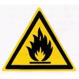 Предупреждающий знак «Пожароопасно» (W01)