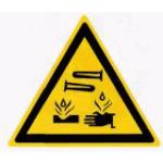 «Едкие и коррозионные вещества» W04