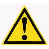 Предупреждающий знак «Опасность» (W09)