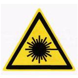 Предупреждающий знак «Лазерное излучение» (W10)