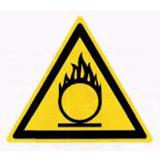 Предупреждающий знак «Окислитель» (W11)