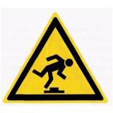 Предупреждающий знак «Малозаметное препятствие» (W14)
