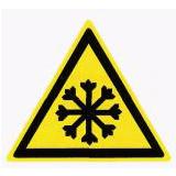 Предупреждающий знак «Холод» (W17)