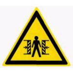 «Опасность зажима» W23