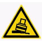 «Возможно опрокидывание» W24