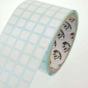 Этикетки белые матовые из синтетической бумаги 1161