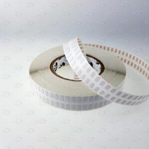 Высокотемпературные этикетки белого полуглянцевого полиимида 5395