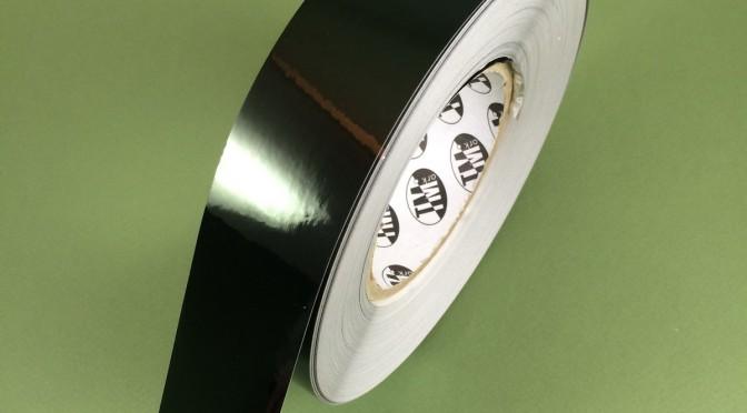 Этикетки из чёрного глянцевого полиэстера 1118