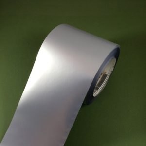 Этикетки серебристые матовые из полиэстера 1121
