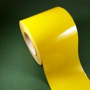 Этикетки цветные и прозрачные самоклеящиеся из полиэстера