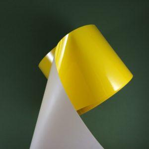 Бирки из жёлтого полиимида 5216