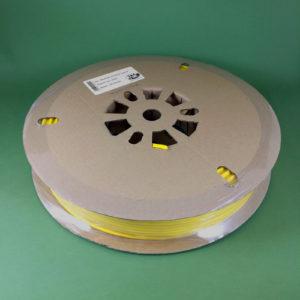 Термоусадочная трубка TMAРК-БГ-2К для печати термоусадочных маркеров на кабельном принтере, белая
