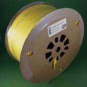 Термоусадочная трубка TMAРК-НГ-3К для печати термоусадочных маркеров на кабельном принтере, жёлтая
