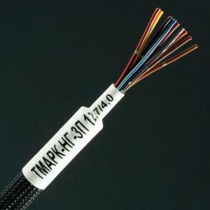 Термоусадочные маркеры из трубки ТМАРК-НГ-3П для печати термоусадочных маркеров на термотрансферном принтере