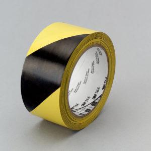 Лента 3M 766 черно-желтая