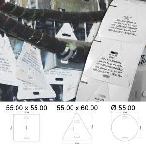 ТМАРК 2в1 СТ – Комплект кабельных бирок Стандарт