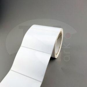 Этикетки из белого глянцевого полипропилена 415702