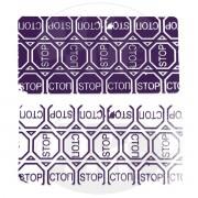 Гарантийная этикетка пломба наклейка СТОП STOP из материала 6004