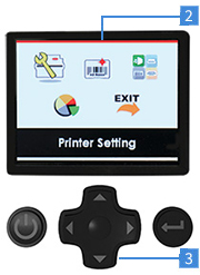 Цветной экран cab MACH2