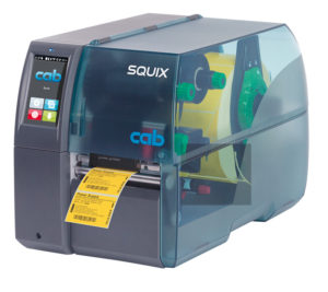 Принтер cab SQUIX 4 M для печати трубки, бирок, этикеток