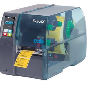 Модель cab SQUIX 4 базовая, центральное расположение материала