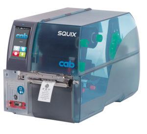 cab SQUIX 4 MT модель для печати на текстильных летнах, центральное расположение материала