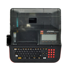 Кабельный принтер монтажника MAX Letatwin LM 550A PC - вид сверху