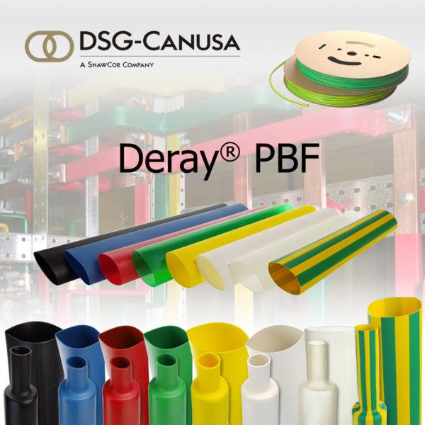 Гибкие экономичные термоусадочная трубка Deray PBF