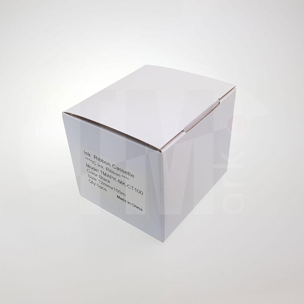 Упаковка (5 штук) картриджей с риббоном ТМАРК-МК-СТ100