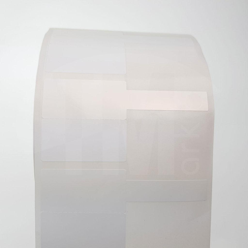 Этикетка флажок для маркировки оправы очков 80 x 40 мм